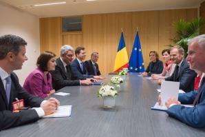 Mihai Tudose, în prima vizită externă. Premierul dă asigurări la Bruxelles