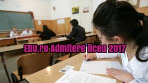 EDU.ro Admitere liceu 2017