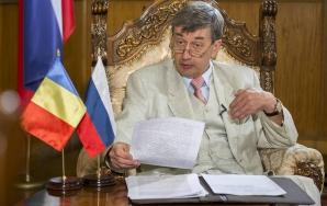 Ambasadorul Rusiei la București, Valeri Kuzmin Foto: Claudiu Popa