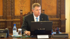 Klaus Iohannis, șeful CSAT