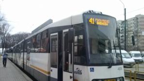 PANĂ DE CURENT pe linia tramvaiului 41, din Capitală. Circulaţia, OPRITĂ