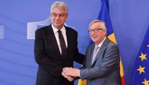 Tudose și Juncker
