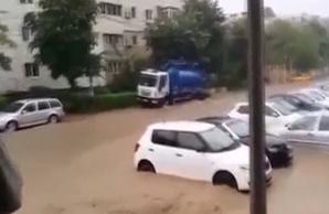 Tulcea, inundații