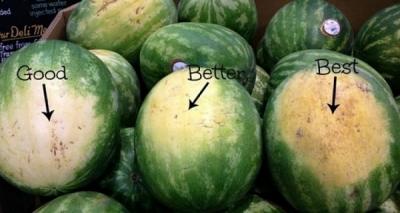 Cum să alegi cel mai bun pepene. Trucul pe care toată lumea trebuie să îl ştie