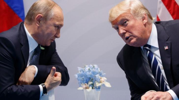 Trump s-a întâlnit cu Putin şi în secret