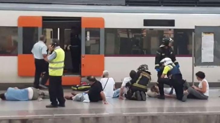 Accident feroviar grav la Barcelona: cel puțin 48 de răniți. MAE: Printre victime, un cetăţean român