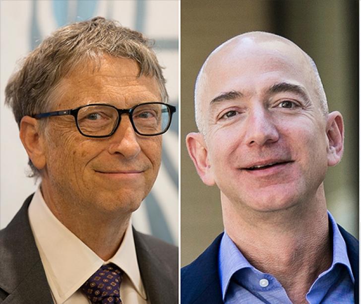 Jeff Bezos, peste Gates ca avere