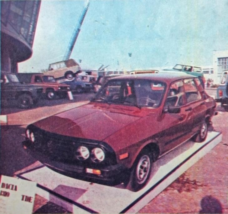 Cum arată Dacia 1310 TDE, primul turbo-diesel românesc