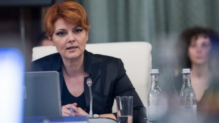 Olguţa Vasilescu: Pensiile speciale nu vor mai fi actualizate cu salariile aflate în plată