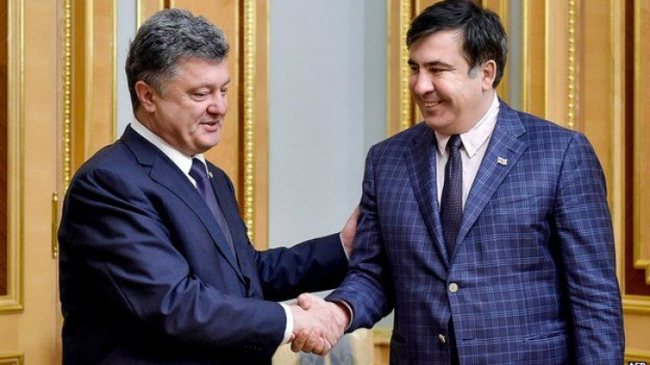 Sfârșitul prieteniei. Fostul președinte georgian, lăsat fără cetățenia ucraineană
