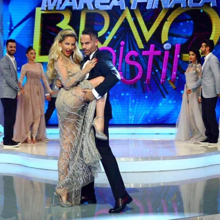 Scena hot cu Andreea Bănică în marea finală de la Bravo, ai stil!