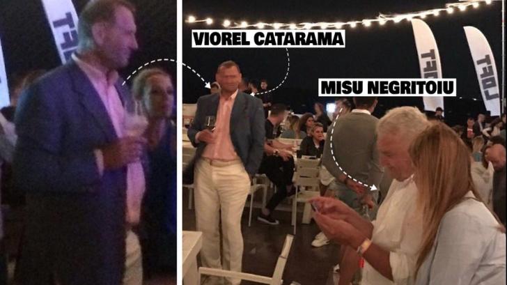 Cataramă i-a ţinut companie la Neversea lui Mişu Negriţoiu, după scandalul ASF