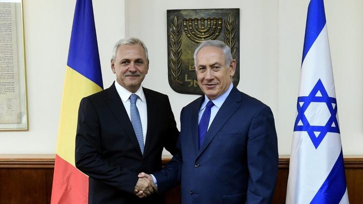 """Dragnea s-a întâlnit cu Benjamin Netanyahu. Ce ascunde promisiunea """"atragerii capitalului israelian"""""""
