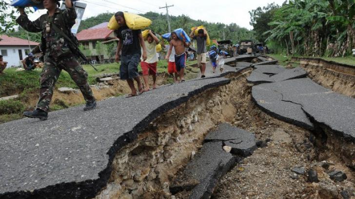 Cutremur puternic în Filipine soldat cu cel puțin o victimă și pagube majore în infrastructură
