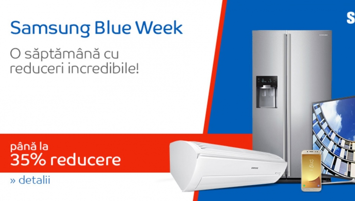 eMAG Samsung Blue Week – Ultimele ore de reduceri 35%