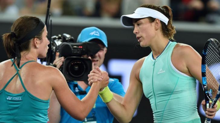 """Surpriză mare în semifinala turneului de la Dubai. Cum a """"comis-o"""" Garbine Muguruza"""