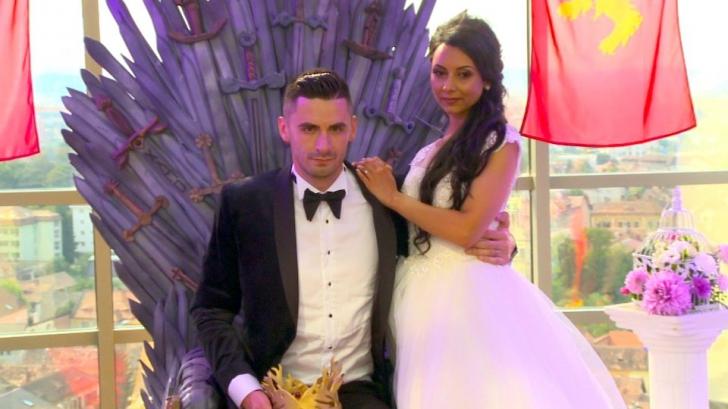 Nunta UNICĂ a unui cuplu de români: inspirată de seria Game of Thrones