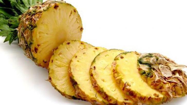 De ce atunci când mănânci ananas îţi simţi gura aspră?