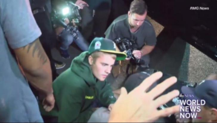 """Justin Bieber, implicat într-un accident auto: """"A început să țipe de durere"""""""