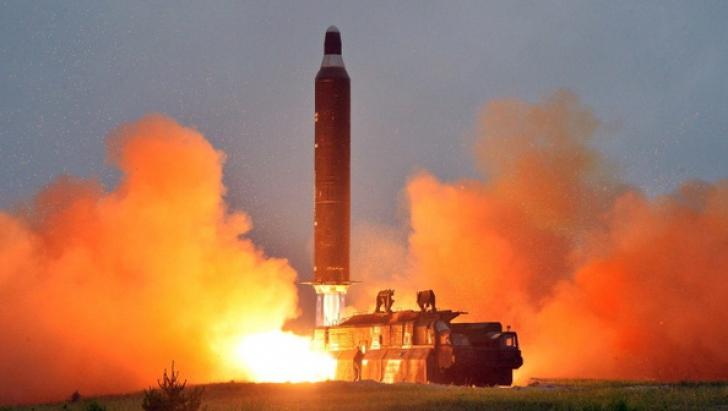 FĂRĂ PRECEDENT. Coreea de Nord anunță că a lansat cu succes o rachetă intercontinentală
