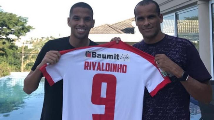 Dinamo - Bilbao 1-1. Ce a spus marele Rivaldo despre golul marcat de fiul său, Rivaldinho