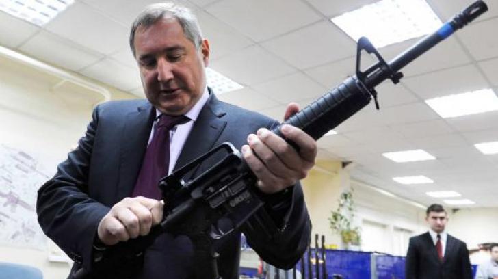 Avionul lui Rogozin, întors din zbor de România. Reacţia oficială a Rusiei