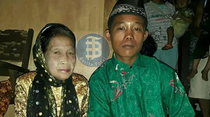 Nuntă neobişnuită! Mire de 16 ani şi mireasă de 71 de ani. Cum l-a convins femeia să o ia de nevastă