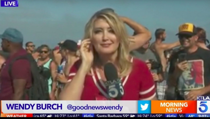 Reporterul care a avut cea mai GROAZNICĂ experienţă: transmitea de pe plajă şi un bărbat....