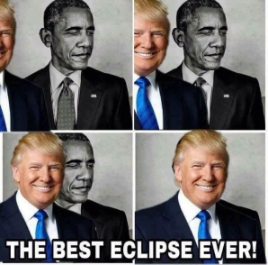 Barack Obama, eclipsat de Trump