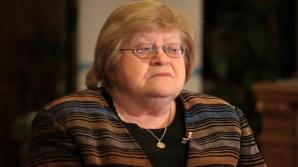 Zoe Petre, internată în stare gravă la Spitalul Elias