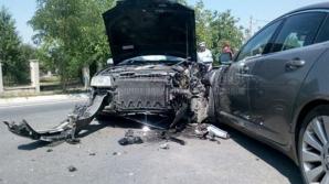 Accident cumplit în Hudum.