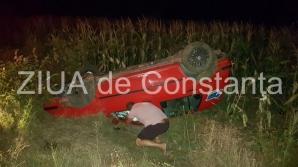 Accident în Constanţa. Şoferul susţine că nu-şi găseşte soţia,aflată în maşină. ŞOC! Unde era femeia