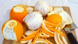 Nu o mai arunca! Coaja de portocală face minuni pentru sănătatea ta