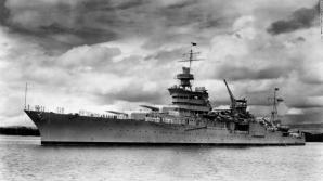 Crucișătorul american a fost torpilat de submarinul japonez I-58.