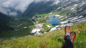 Bâlea Lac, cea mai răcoroasă destinaţie.