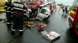 Accident grav în Ialomița