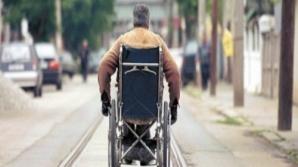 Persoanele cu dizabilități, protest la Ministerul Muncii