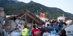 Cutremur insula Ischia Italia