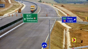 Lucrările de pe Autostrada Lugoj – Deva, verificate cu drona de autorităţi