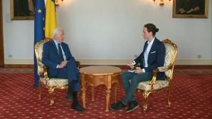 Ministrul Afacerilor Externe, Teodor Meleşcanu, la Realitatea TV