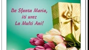 Felicitări de Sfânta Maria