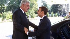Tudose si Macron