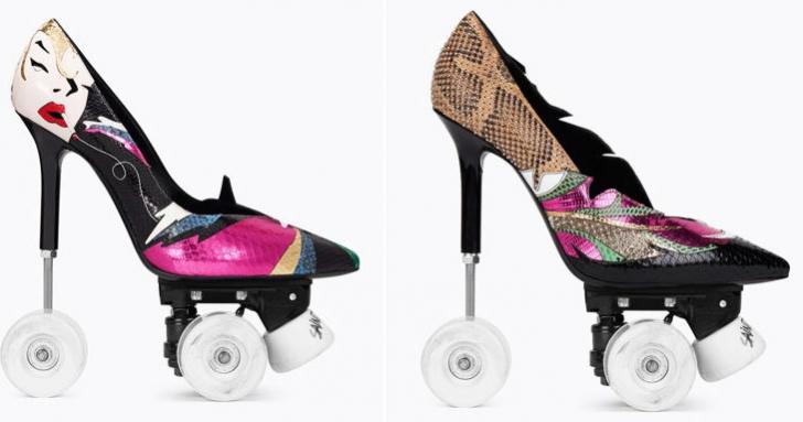 O nouă provocare pentru femeie: stiletto cu role