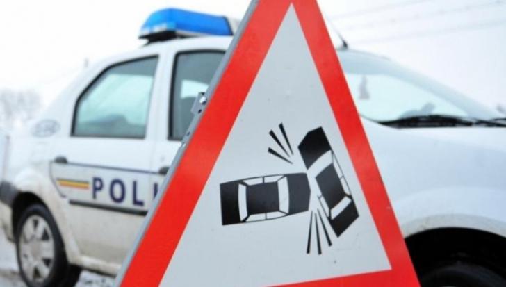 Accident grav în Vaslui! O mașină a ars în totalitatea: două victime