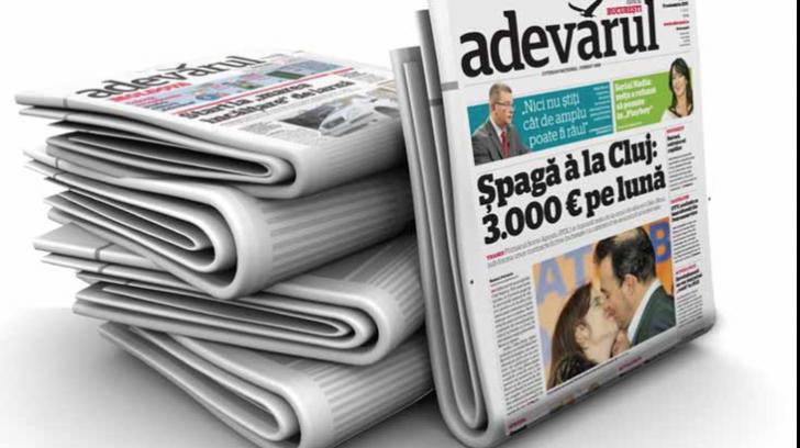 Ziarul Adevărul își schimbă formatul, după mai bine de 10 ani