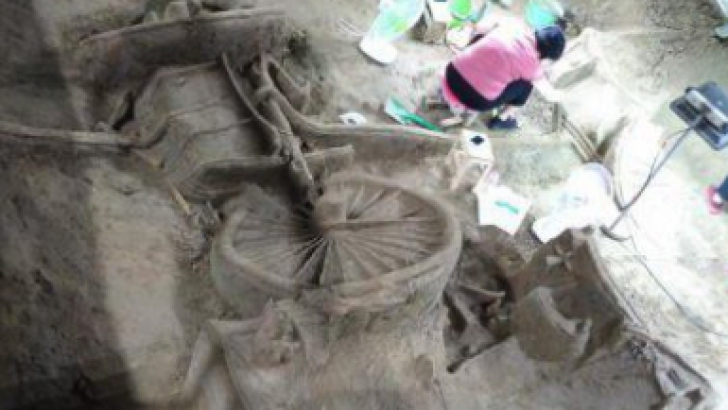 """A fost descoperit primul """"4x4"""" din lume. Are 2400 de ani vechime. Cum arată"""