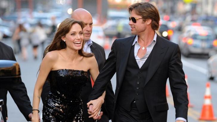 Angelina Jolie şochează după despărţirea de Brad Pitt