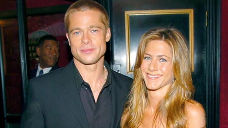 Jennifer Aniston si Brad Pitt, din nou impreuna dupa 12 ani