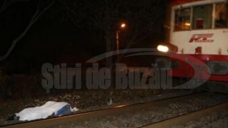 Sfârșit tragic pentru un bărbat din Buzău. A fost călcat de tren în timp ce se ducea spre casă