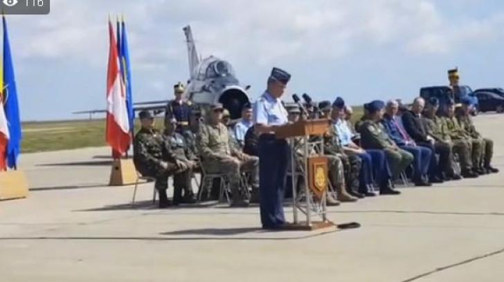 Ceremonia de certificare NATO a detașamentului canadian, la Baza Aeriană Mihail Kogălniceanu